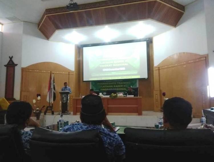 HMI Bungo Gelar LK II Tingkat Nasional Perdana