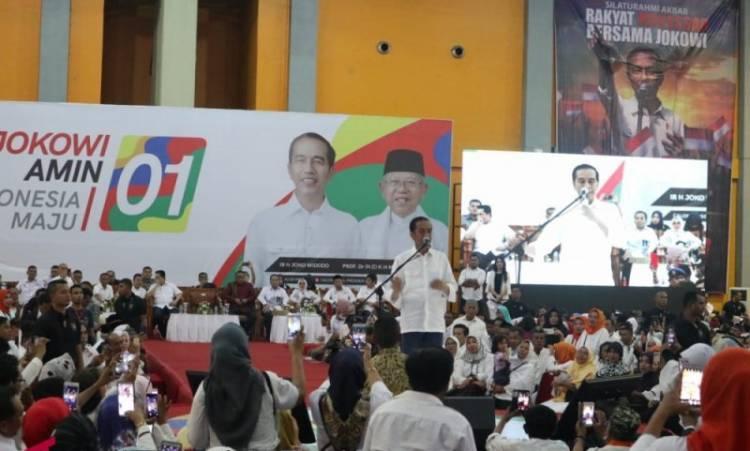 Jokowi Janjikan Lagi Dana Kelurahan Dibagikan Pada 2019