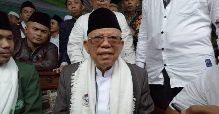 Ma'ruf Amin: Warga Banten Sedikit Saja Ada Kesalahan Langsung Diingatkan Allah