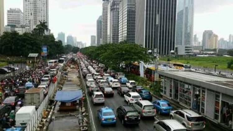Polda Metro Tutup Jalan Thamrin-Sudirman Pukul 17.00, Ini Rute Pengalihannya
