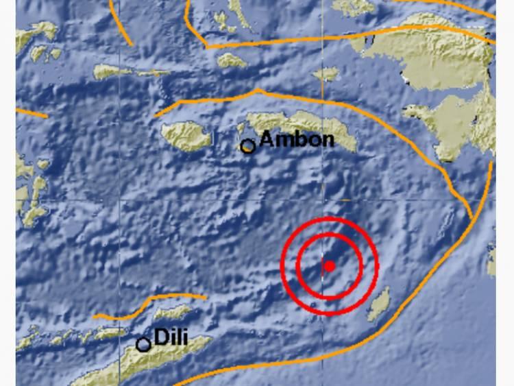 Gempa Tektonik 5,7 SR Guncang Kabupaten MTB