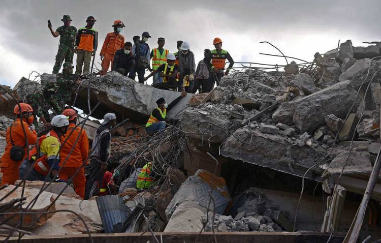Selama 2018, Terjadi 23 Kali Gempa Bumi yang Merusak