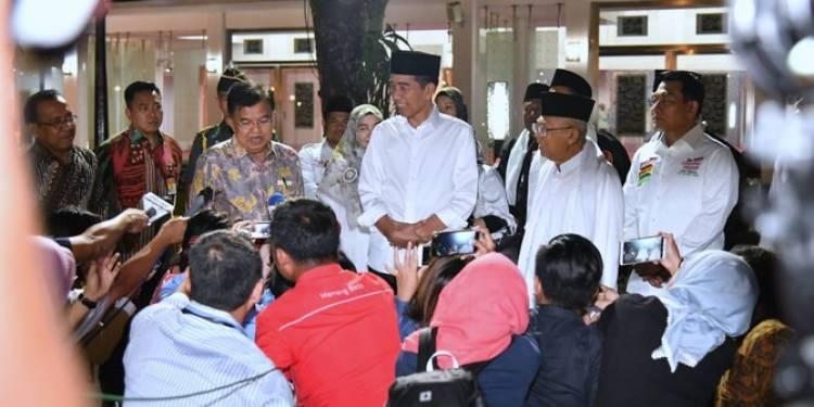 Marak Hoak, Presiden Curhat ke Jamaah Dzikir di Rengasdengklok