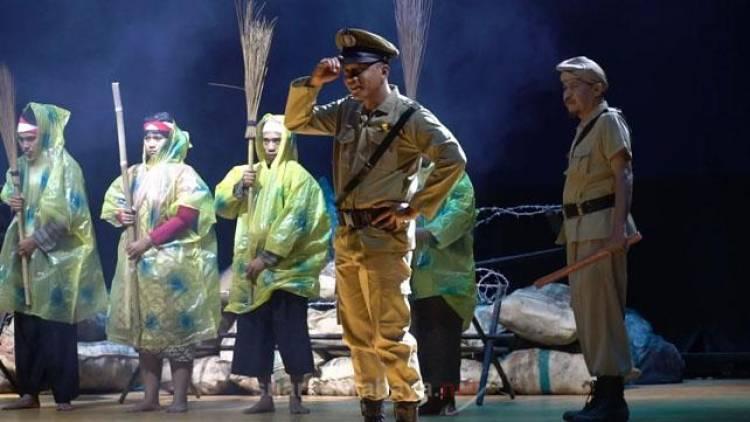 Ternyata Kapolrestabes Surabaya Heboh Bermain Ludruk