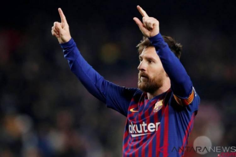 Turun Bangku Cadangan, Messi Inspirasi Kemenangan Barca Atas Leganes