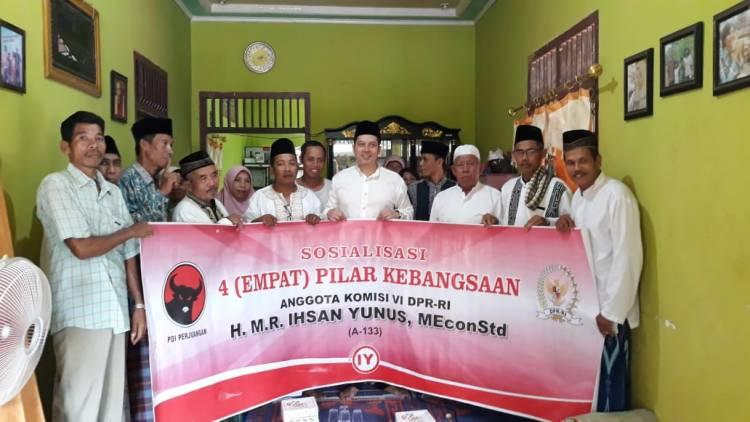 Sosialisasi Empat Pilar di Muaro Jambi, Ini Pesan Ihsan Yunus