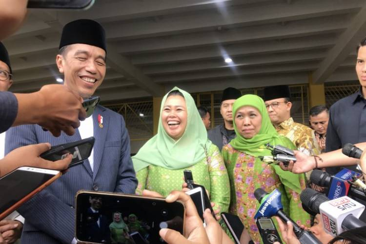 Muslimat Deklarasi Anti-Hoaks, Jokowi: Ini Sebuah Perlawanan Hoaks di Medsos