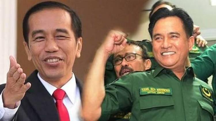 Akhirnya! Yusril: Pleno DPP PBB Putuskan Jokowi-Ma'ruf Amin, Tetap Menghormati Keputusan Pribadi
