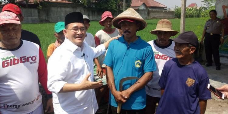 Ruhut ke Klaten: Pernyataan Prabowo Soal Beras Impor, Itu Bohong!