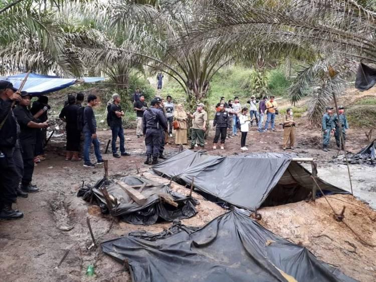 Bantah Tudingan Cuek Syahirsah, Pertamina: Tim Terpadu Sudah Tutup 49 Sumur Ilegal