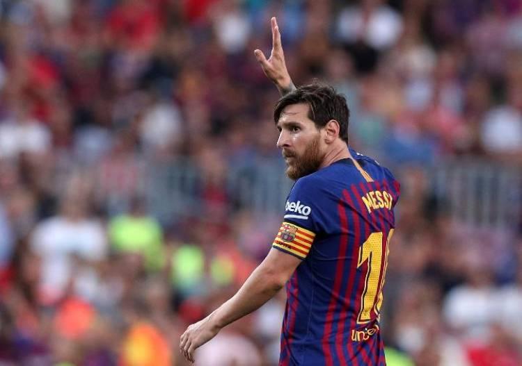 Lionel Messi Siap Meriahkan Alex Noerdin Cup