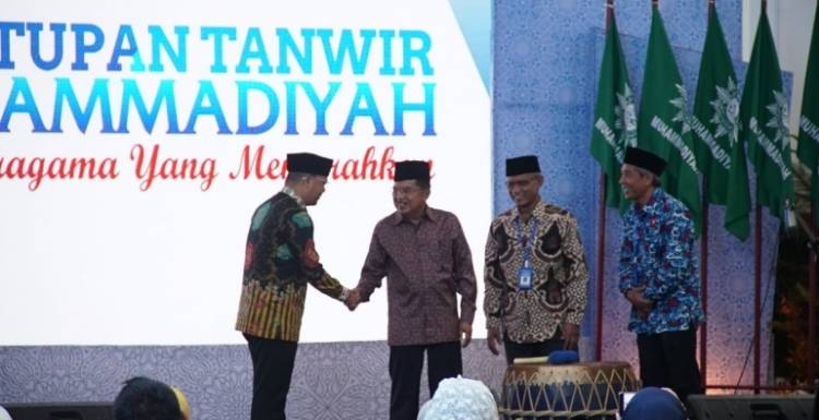 JK Minta Muhammadiyah Tekankan Dakwah Muamalah