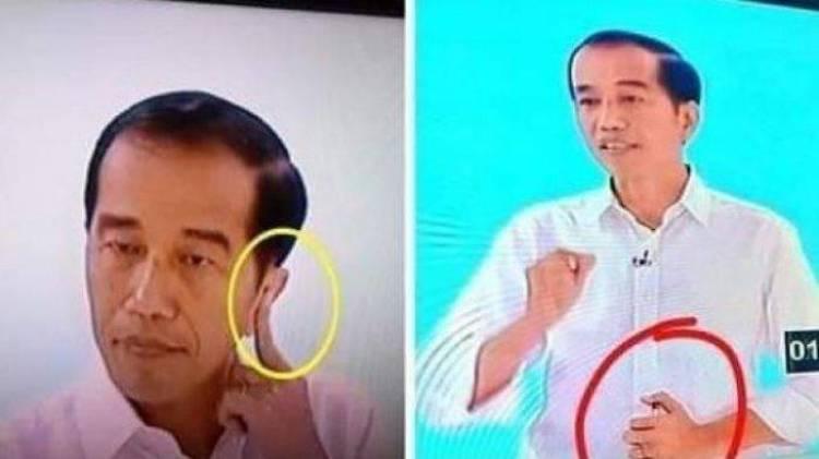 Jokowi Gunakan Alat Bantu Saat Debat? Ini Pengakuan TKN