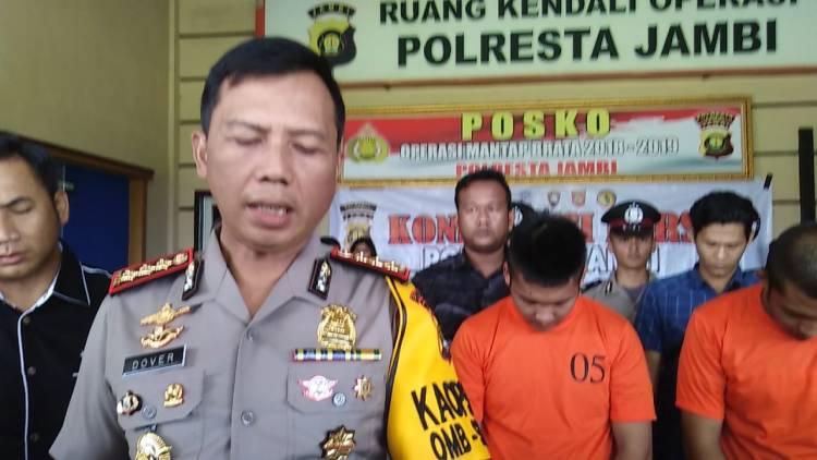8 Kali Gasak Motor, Pencuri Spesialis Lintas Kabupaten Ini Didor Polisi