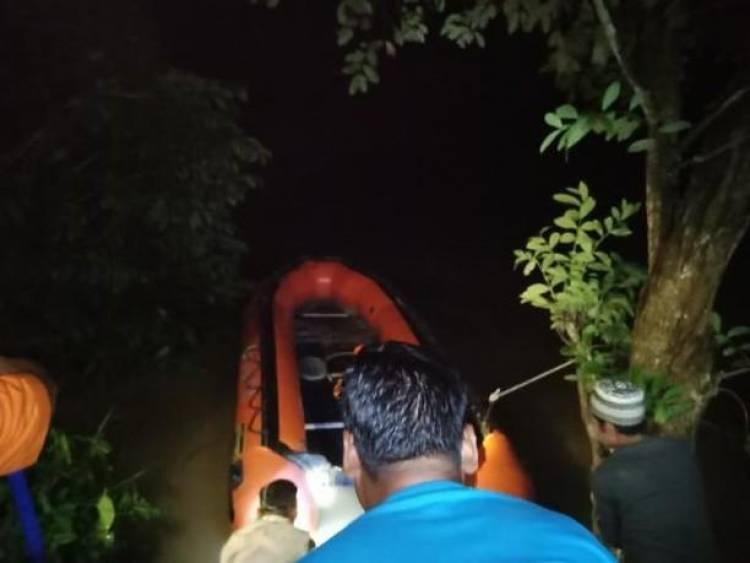 Pagi Ini, Pencarian Warga Kuap yang Tenggelam di Sungai Batanghari Dilanjutkan