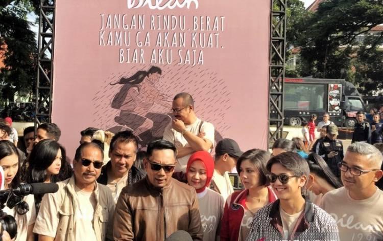 Resmikan Sudut Dilan, Ridwan Kamil Sebut Perayaan Hari Dilan