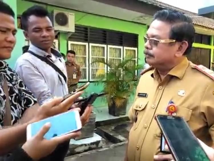 Pintu Ditutup Rapat-rapat, Pegawai PU Kota Jambi Tes Urine Mendadak