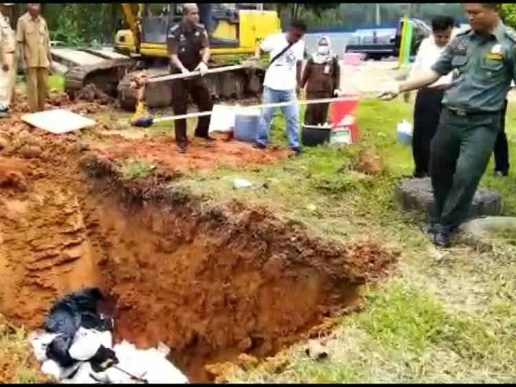 270 Paket Barang Bukti Narkoba Dimusnahkan Kejari Jambi