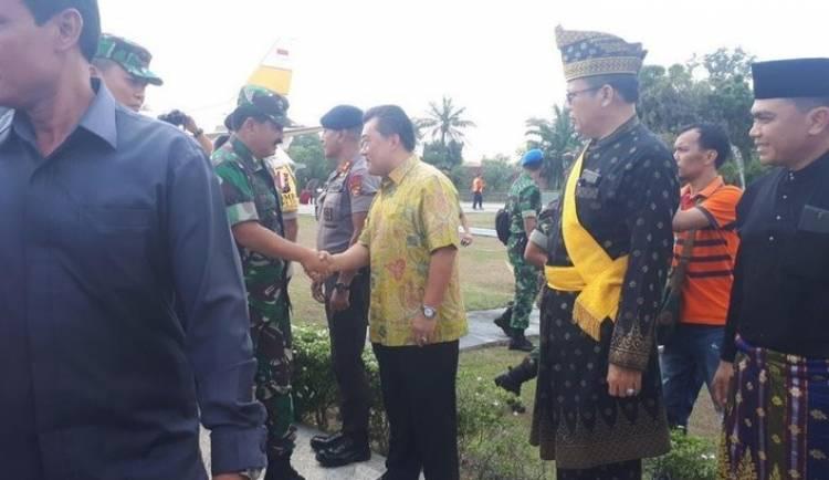 Cek Karhutla, Panglima-Kapolri Langsung ke Pulau Rupat
