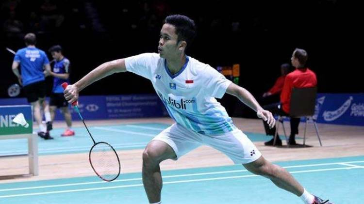 Tumbangkan Lin Dan, Ginting Lolos ke Semifinal Swiss