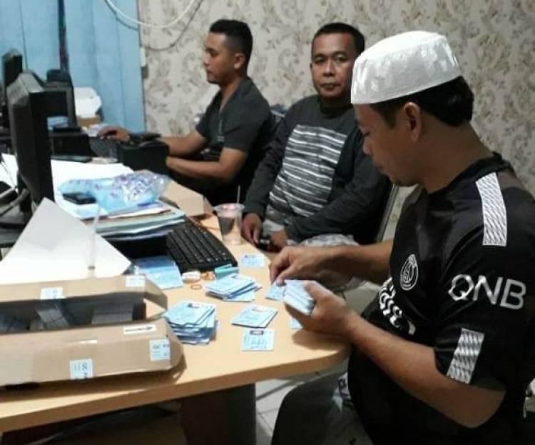 Kebut 7.500 KTP Siap Cetak Jelang Pilpres, Disdukcapil Sarolangun Lembur