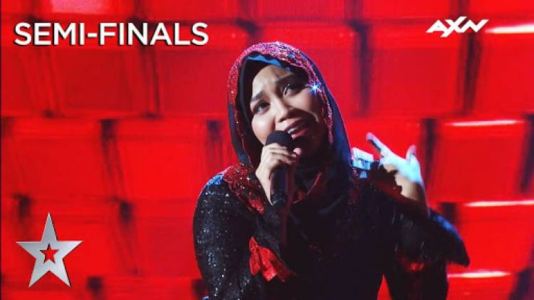 Kisah Siti Saniyah Finalis Asia's Got Talent