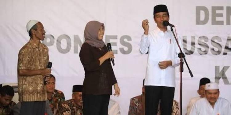 Pedagang di Magelang Panggil Jokowi 'Pak Kiai'