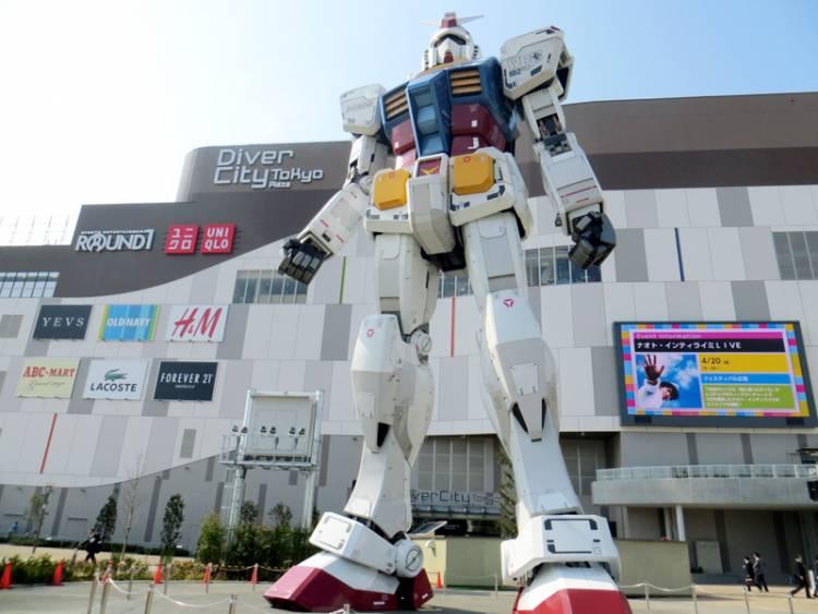 Jepang Siap Pamer Robot Gundam 18 Meter