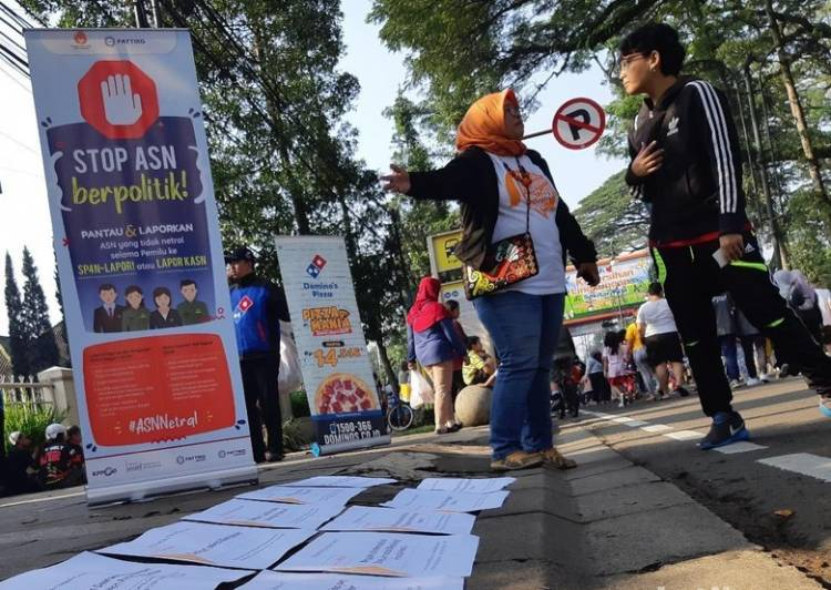 Diduga Tak Netral, 9 Lurah Bandung Dilaporkan ke Komisi ASN