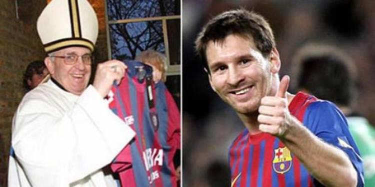 Paus Fransiskus: Messi Sangat Hebat, Tetapi Ia Bukan Tuhan