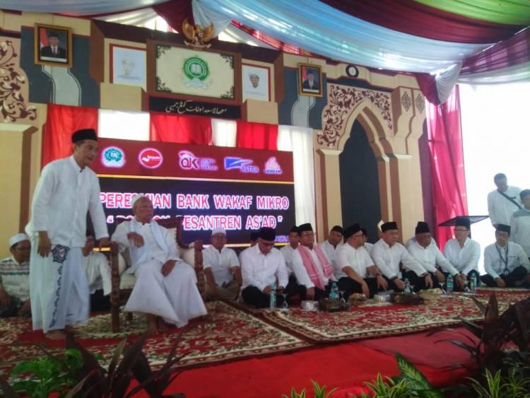 Resmikan Bank Wakaf Mikro Ponpes As'ad, Gubernur Jambi: Pertama di Provinsi Jambi