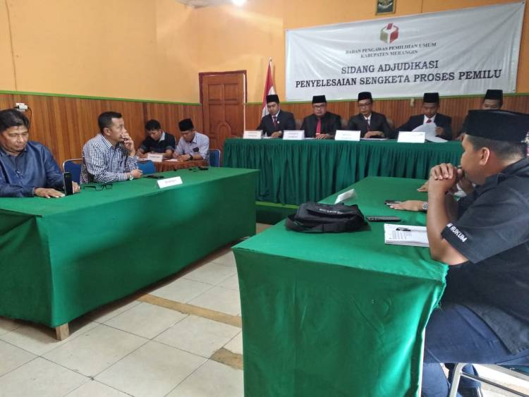 Zamzami Dicoret dari DCT, Senin Bawaslu Merangin Lakukan Mediasi