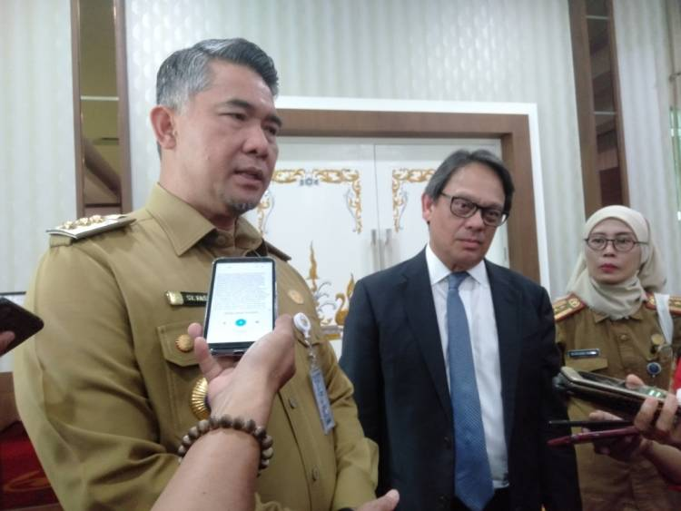 Kunker Konsulat Jenderal Singapura ke Jambi, Begini Kata Wako Fasha
