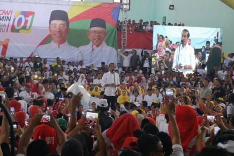 Jokowi Sebut akan Menang 50 Persen di Jabar