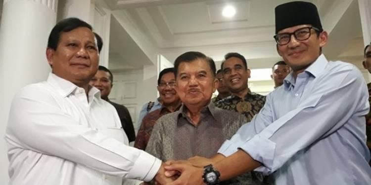 Gerindra: Sandiaga Tidak ke Balai Kota Tapi ke Kantor Wapres
