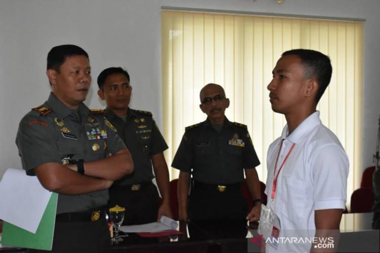 Pemuda SAD Lulus Calon Tamtama TNI Ikuti Pendidikan