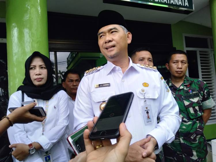 Jenguk Petugas KPPS, Walikota Fasha: Seluruh Biaya Pengobatan Ditanggung Pemkot Jambi