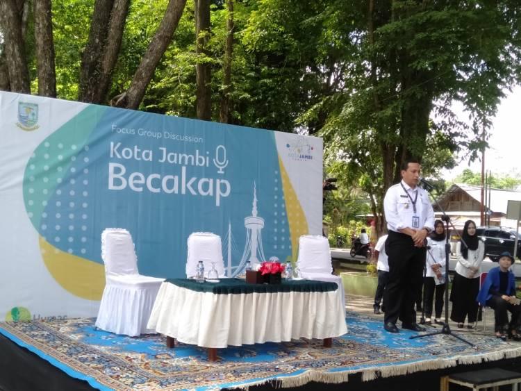 Launching Forum Group Diskusi Kota Jambi Becakap