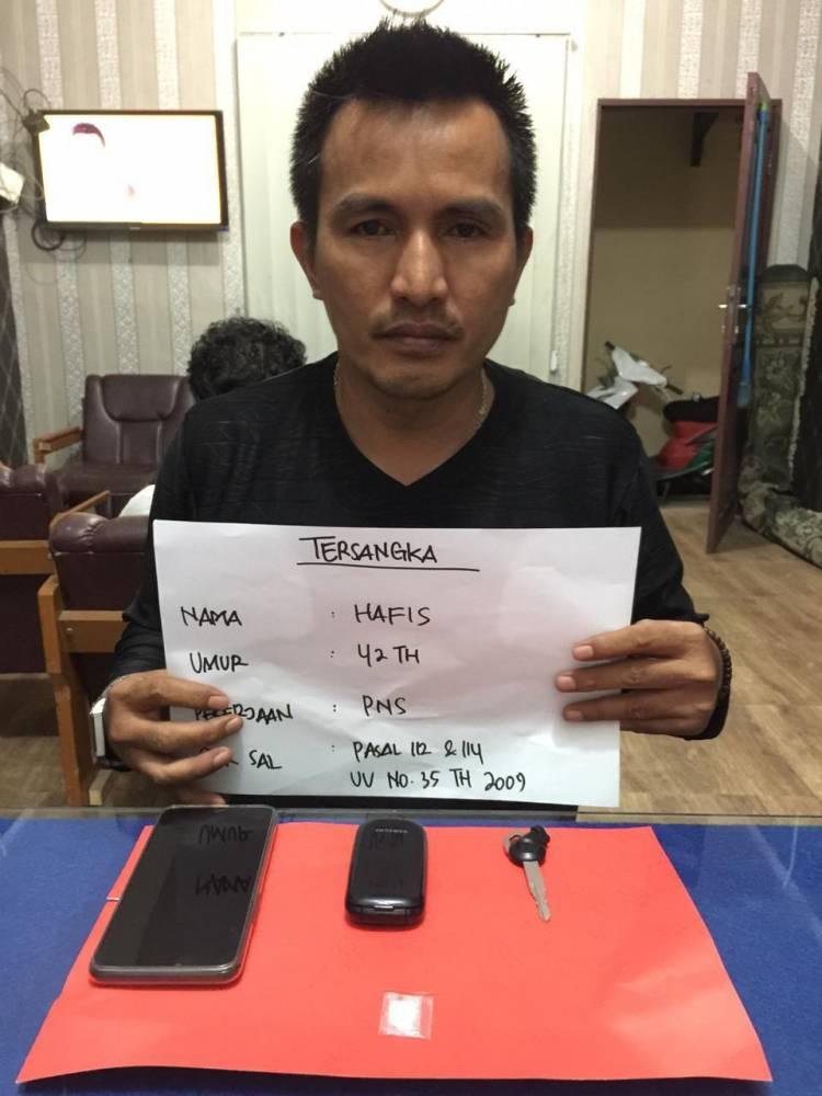 Duh...! ASN DPMTSP Muaro Jambi Dicokok Satuan Resnarkoba Polresta Jambi