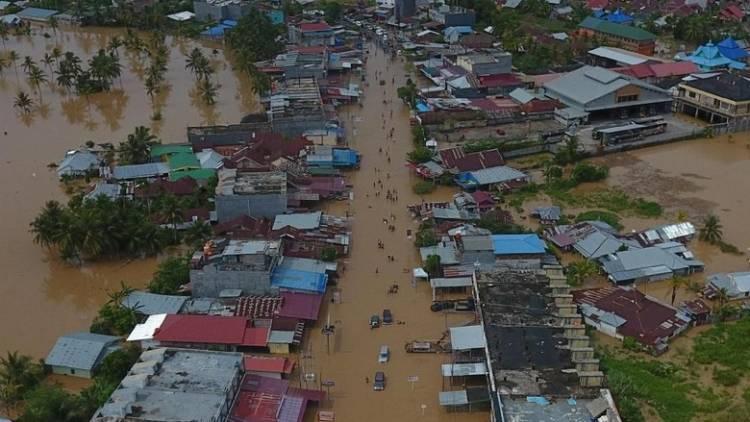 Rp2,25 Miliar untuk Bengkulu Dana Bantuan Banjir
