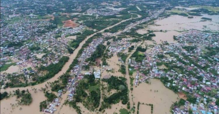 5.628 Pelanggan PLN Bengkulu Gelap Gulita Akibat Banjir
