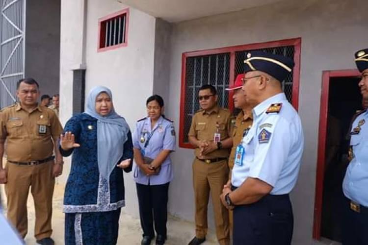 Tinjau Lokasi Kantor Imigrasi di Muarojambi, Bupati Masnah: Yang Mau Urus Paspor Cukup ke Sini