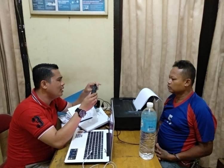 Buron 7 Tahun, Pembunuh Keji Ini Ditangkap di Depan Jamtos Jambi
