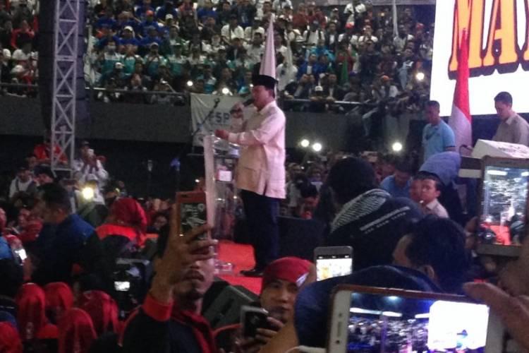 Prabowo: Pekerja Adalah Tulang Punggung Ekonomi Nasional