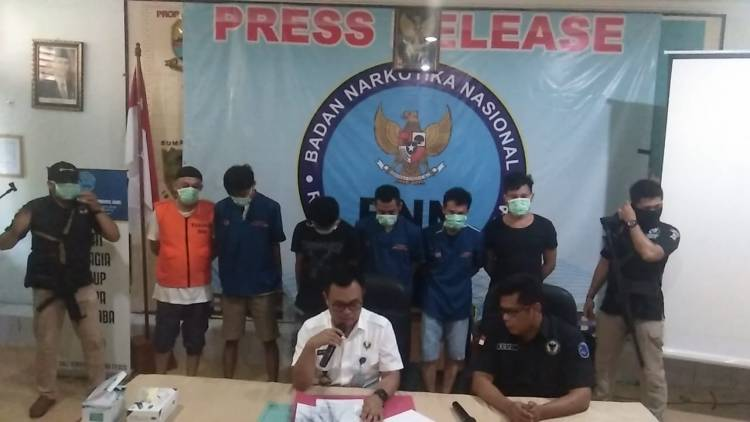 BNNP Bekukan Rekening Tersangka Pengedar Sabu di Lapas Tungkal