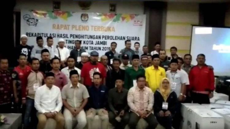 Peserta Pleno Sebut Pemilu Serentak di Jambi Aman dan Jurdil