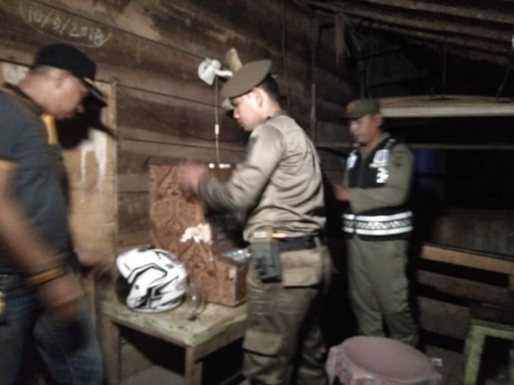 Satpol PP Dalami Temuan 6 Mesin Jackpot di Warung Tuak