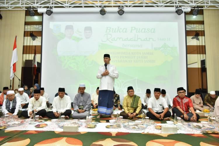 Pererat  Silaturahmi, Pemkot Jambi Gelar Buka Bersama