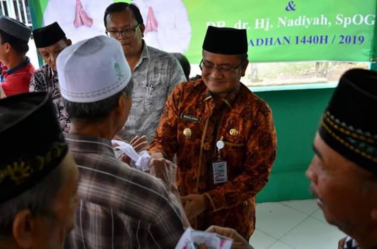 Wawako Jambi Beri Bantuan Sembako di Kelurahan Kasang Jaya