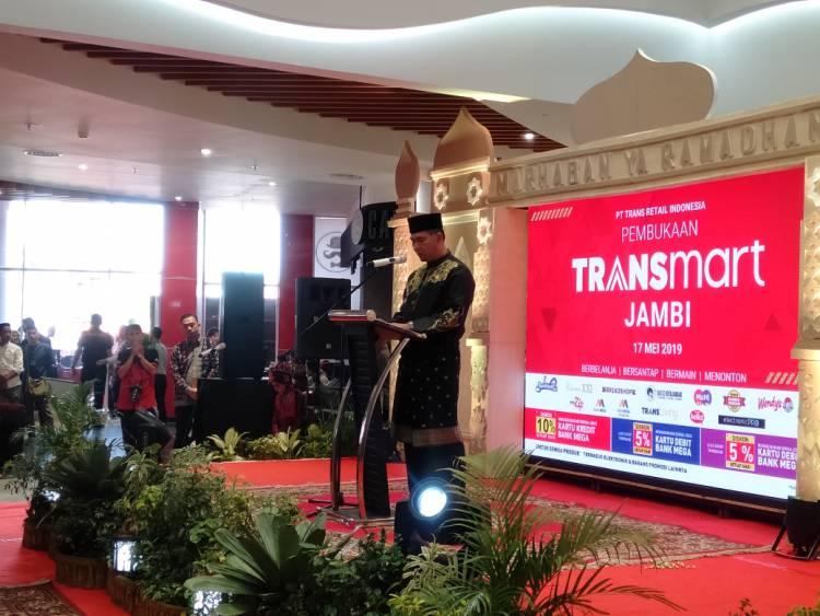 Walikota Resmikan Transmart Jambi Retail Modern Konsep 4 In 1